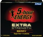 5-Hour Energy Extra Strength Berry 6-Pack