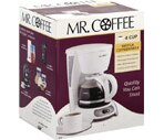 Mr. Coffee 4 Cup Switch Coffeemaker