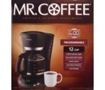 Mr. Coffee Programmable 12 Cup Coffeemaker