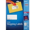 Avery Mailing Labels 2 x 4 Inch White