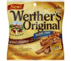Werther's Original Sugar Free Hard Candies Caramel Cinnamon