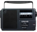Craig Portable AM/FM Radio