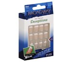 Broadway Nails Fast French Deceptions Short Length, BGG05