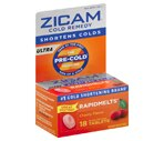Zicam Ultra Cold Remedy Quick Dissolve Tablets Cherry