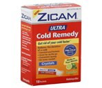 Zicam Ultra Cold Remedy Packets