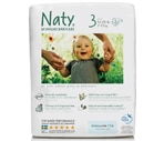 Naty by Nature Babycare Eco Diapers, Size 3