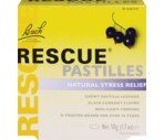 Bach Rescue Pastilles Natural Stress Relief Lozenges Black Currant