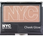 N.Y.C. Cheek Glow Powder Blush Central Park Pink 655