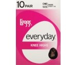 L'eggs Everyday Knee Highs One Size Sheer Toe, Nude