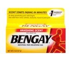 Bengay Menthol Pain Relieving Gel Vanishing Scent