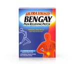 Bengay Ultra Strength Pain Relieving Patches Large Size