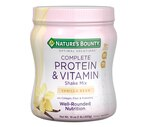 Nature's Bounty Optimal Solutions Complete Protein & Vitamin Shake Mix Vanilla