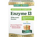 Nature's Bounty Enzyme 13 Digestive Complex Capsules, 30CT