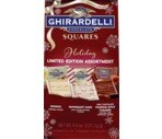 Ghirardelli Holiday Chocolate Assortment Squares 4.5oz
