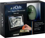 Carson zOrb 35x Digital Microscope Green