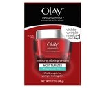 Olay Regenerist Micro-Sculpting Face Cream Moisturizer Fragrance-Free, 1.7 OZ