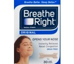 Breathe Right Nasal Strips Large, Tan, 30CT