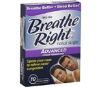 Breathe Right Advanced Nasal Strips