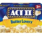 Act II Butter Lover's Popcorn