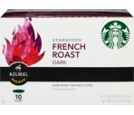 Starbucks Fresh Roast Dark Ground Coffee K-Cups