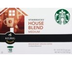 Starbucks Keurig Brewed House Blend Medium
