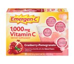 Emergen-C 1,000 mg Vitamin C Cranberry-Pomegranate Packets