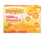 Emergen-C Vitamin C Drink Mix Packets Tangerine