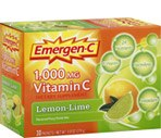 Emergen-C Vitamin C Lemon-Line Packets 1000mg