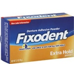 Fixodent Denture Adhesive Powder Extra Hold