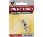 Victor Chrome Valve Caps