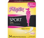 Playtex Sport Liners, 54CT