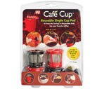 Cafe Cups Reusable Single Cup Pod