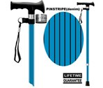 Main Cane™  Designer Cane Adjustable T-Handle Cane, Denim