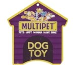 Multipet International Multi Crew Monkey Dog Toy