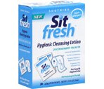 Sit Fresh Hygienic Cleaning Lotion Convenient Packets