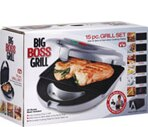Big Boss Grill 15 Piece Grill Set