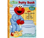 Sesame Street Potty Book Coloring & Activities