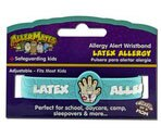 Allermates Allergy Alert Wristbands, Latex