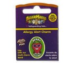 Allermates Wristbands & Allergy Alert Charms, Berry Charm