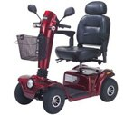 "Drive Medical Gladiator Scooter Red 20"" Seat"