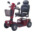 "Drive Medical Gladiator Scooter Red 22"" Seat"