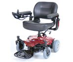 Drive Medical Cobalt X23 Power Wheelchair Red