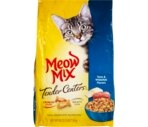 Meow Mix Tender Centers Cat Food, Tuna & Whitefish