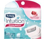 Schick Intuition Plus Renewing Moisture Cartridges with Pomegranate Extract