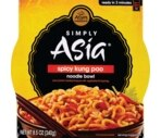 Simply Asia Premium All Natural Noodle Bowl Spicy Kung Pao
