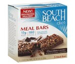 South Beach Diet Meal Bars Chocolate Flavored