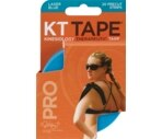 KT Tape Pro Elastic Synthetic Precut Sports Tape, Laser Blue