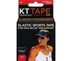 KT Tape Original Kinesiology Therapeutic Precut Strips Tape Red