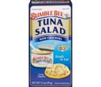 Bumble Bee Tuna Salad With Crackers