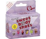 O Yes Sweet Body Shots Cocktail-Flavored Lubricant Pouches Variety Pack